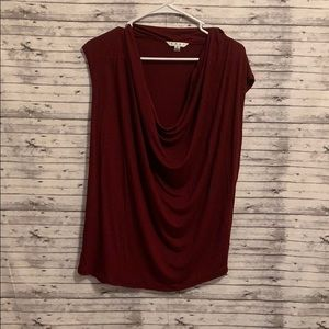 Cabi garnet loose scoop neck tank top blouse